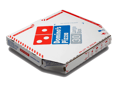 Domino's Pizza - box