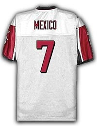 Ron Mexico NFL jersey