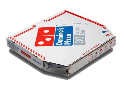 Domino's Pizza - box