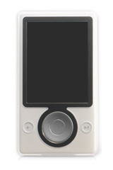 Possible Zune music player prototype; unconfirmed; image swiped w/o permission from Engadget.com
