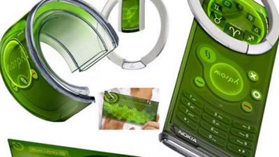 Nokia morph: concept phone